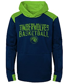 Outerstuff Minnesota Timberwolves Off The Court Hoodie, Big Boys (8-20)