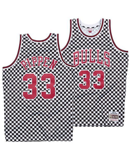 online store 9ec0f 4bd08 Mitchell & Ness Men's Scottie Pippen Chicago Bulls ...