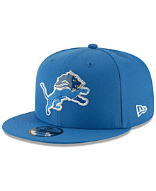 New Era Detroit Lions Metal Thread 9FIFTY Snapback Cap