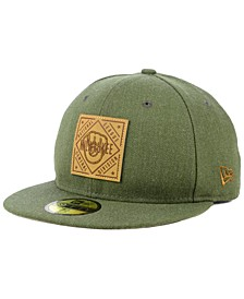 Milwaukee Brewers Leather Patch 59FIFTY-FITTED Cap