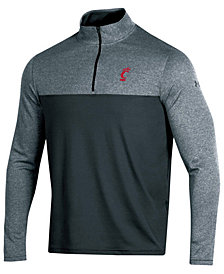 Under Armour Men's Cincinnati Bearcats Scratch Mock Quarter-Zip Pullover
