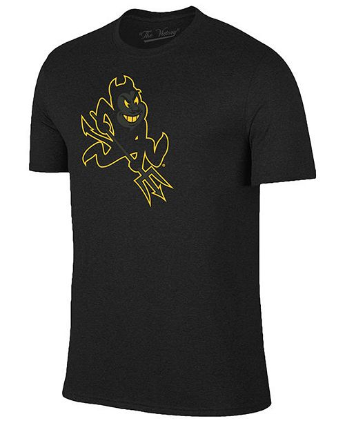 Champion Men's Arizona State Sun Devils Black Out Dual Blend T-Shirt