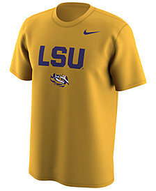 Nike Men's LSU Tigers Legend Logo Lockup T-Shirt