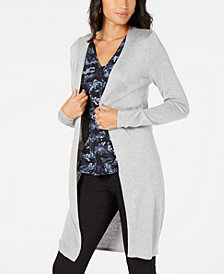 MICHAEL Michael Kors Open-Front Cardigan, In Regular & Petite Sizes