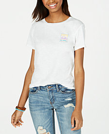 Billabong Juniors' Cotton Stamp Heritage Screen-Print T-Shirt