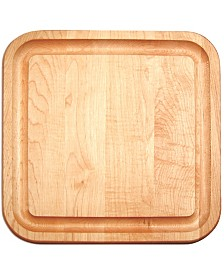 Catskill Craft Square Cutting Board With Groove