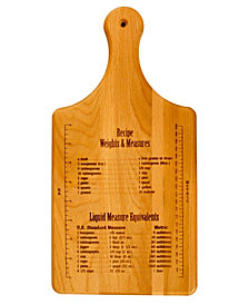 Recipe Weights And Measures Paddle