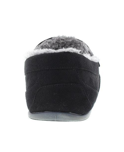 3a7f877f83fcb ... DEER STAGS Slipperooz Men s Spun Indoor Outdoor S.U.P.R.O. Sock Cozy  Moccasin Slipper ...