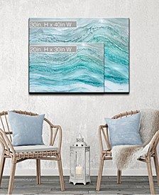 'Harbor' Abstract Canvas Wall Art Collection