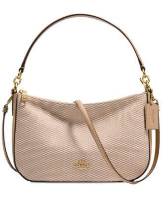 coach legacy jacquard chelsea crossbody hobo handbags rh macys com