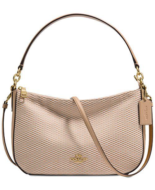 e0ba0cbd6 COACH Legacy Jacquard Chelsea Crossbody Hobo & Reviews - Handbags ...