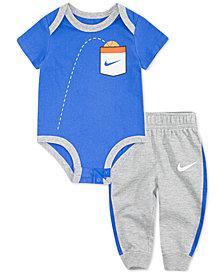 Nike Baby Boys Graphic-Print Bodysuit & Jogger Pants Set
