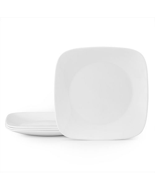 Corelle Vivid White 4pc Dinner Plate