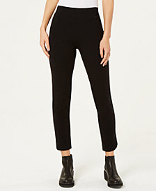 Eileen Fisher Organic Cotton Slim Ankle Pant