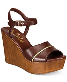 Kimber Platform Wedge Sandals, Created for Macy's