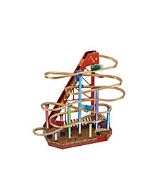 Mr. Christmas Worlds Fair Grand Roller Coaster LED Animated Musical