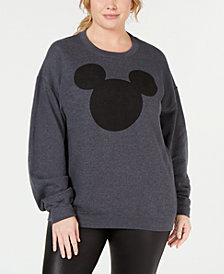 Disney Trendy Plus Size Mickey Mouse Sweatshirt