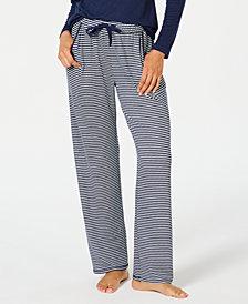 Charter Club Printed Knit Pajama Pants, Created for Macy's