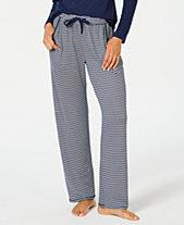 5ceb739c4602bf Charter Club Printed Soft Knit Pajama Pants, Created for Macy's
