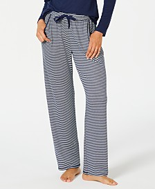 c53c91a00b Charter Club Printed Soft Knit Pajama Pants