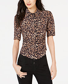 Nanette by Nanette Lepore Printed Shirt, Created for Macy's