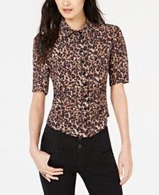 Nanette Lepore Printed Shirt, Created for Macy's