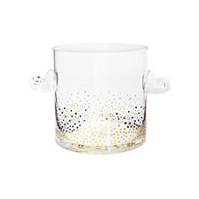 Jay Imports Gold Luster Ice Bucket
