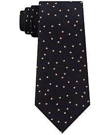 Calvin Klein Men's Stardust Slim Silk Tie