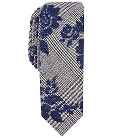 Original Penguin Men's Newton Floral Skinny Tie