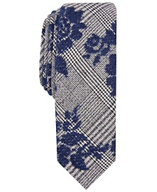Original Penguin Men's Newton Floral Skinny Tie