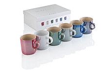 Le Creuset Metallic Mugs, Set of 6
