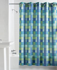 Hookless Check Mate Shower Curtain