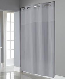 Victorian Satin Stripe 3-in-1 Shower Curtain