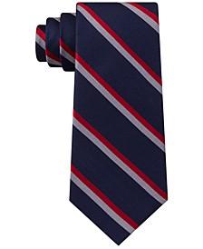 Men's Classic Red Stripe Silk Ties