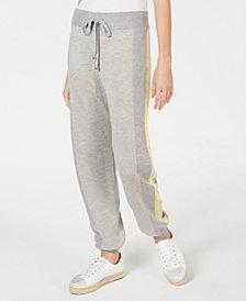 I.N.C. Varsity-Stripe Sweater Pants, Created for Macy's