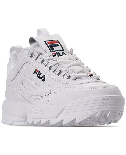 87f9d7858ebd ... Fila Women s Disruptor II Premium Casual Athletic Sneakers from Finish  ...