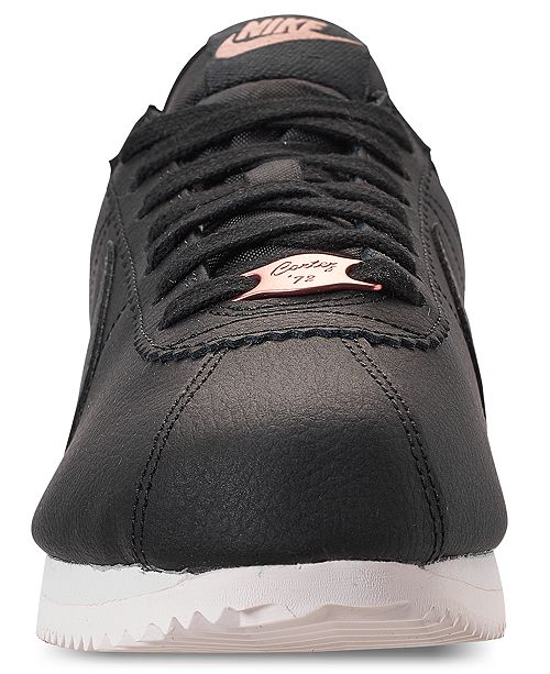 new styles e1c4f 79aad ... Nike Women s Classic Cortez Leather Metallic Casual Sneakers from Finish  Line ...