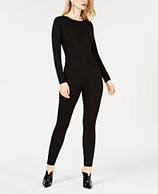 GUESS Sandy Lace-Inset Jumpsuit