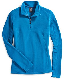 EMS® Women's Classic Quick-Dry Temperature-Regulating 1/4-Zip Microfleece Sweatshirt
