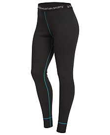 EMS® Women's Techwick Performance Stretch Moisture-Wicking Lightweight Base Layer Bottoms