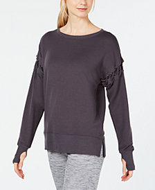 Ideology Crisscross-Sleeve Top, Created for Macy's