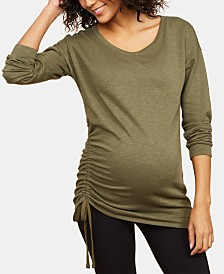 Motherhood Maternity Ruched Top