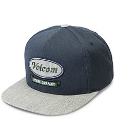 Volcom Men's Cresticle Snapback Logo Hat