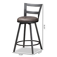 Arjean Counter Stool, Quick Ship