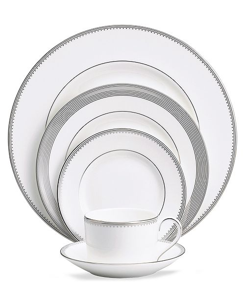 Vera Wang Wedgwood Dinnerware, Grosgrain 5 Piece Place Setting