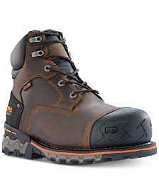 "Timberland Men's PRO Boondock 6"" Waterproof Composite Toe Boots"