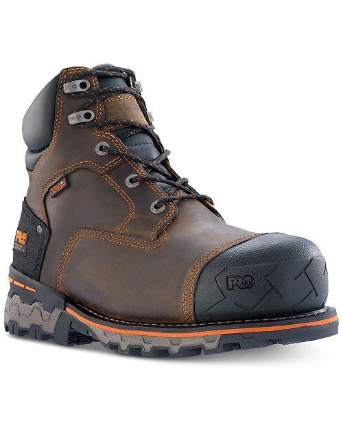 """Timberland Men's PRO Boondock 6"""" Waterproof Composite Toe Boots"""