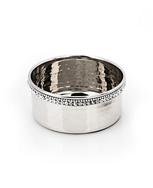 Classic Touch Prism Wine Coaster with Diamonds