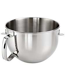 KitchenAid KN2B6PEH 6 Qt. Stainless Steel Stand Mixer Bowl