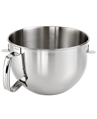 Kitchenaid Kn2b6peh 6 Qt Stainless Steel Stand Mixer Bowl